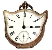 cat home decor decorative clock