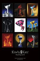 Kitschy Katz Art Poster