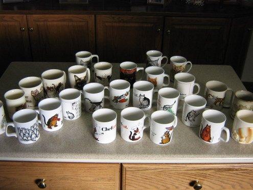 Cat Mug Collection