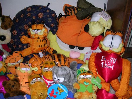 Detail Garfield Collection